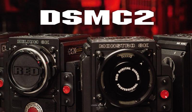 RED DSMC2 Underwater