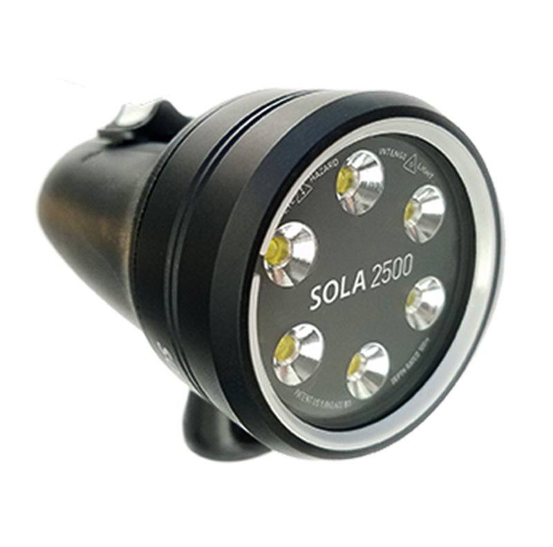 Light & Motion Sola 2500F Underwater Video Light Underwater