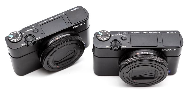 Sony's RX100 IV, RX100 VII cameras