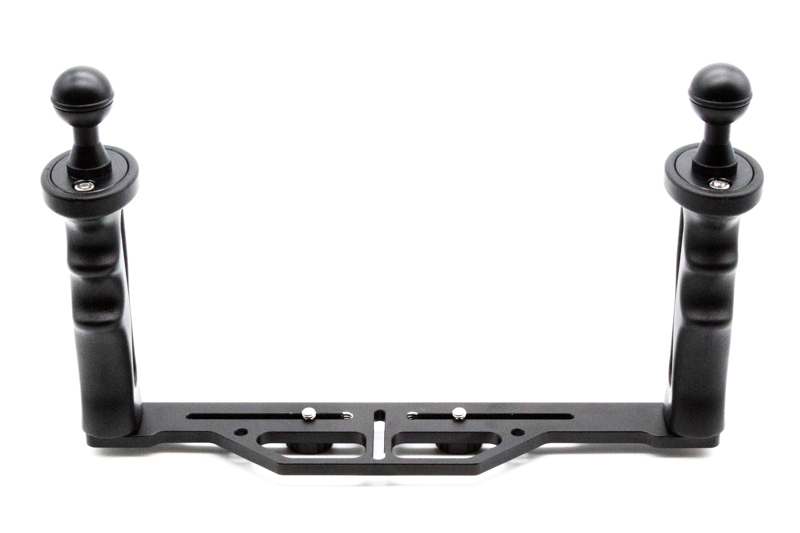 """Salted Line Dual handle tray system with included 1"""" ball mounts"""