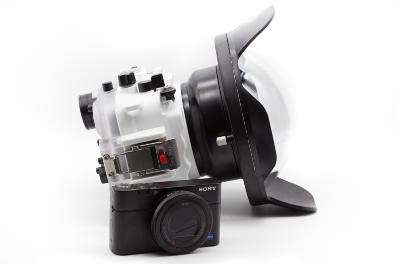 """Salted Line Housing with 6"""" Acrylic Dome and Sony's RX100 VII"""