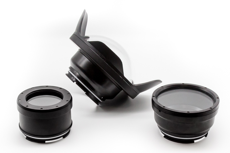 Salted Line interchangeable dry ports for RX1xx Series Cameras