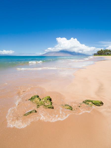 Topside shot of a Keawakapu Beach. Maui, HI taken with SeaLife Micro 3.0