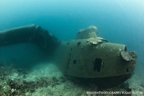 Kosrae PBM Plane Wreck