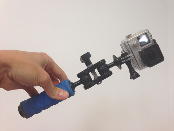 gopro handle for waves