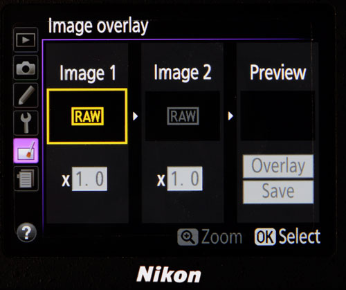 How to Use In-Camera Image Overlays - Underwater Photography Guide