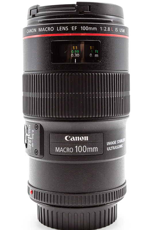 Canon EF100mm f/2.8L Macro IS USM Lens