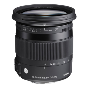 Sigma 17-70mm f2.8-4 Macro Lens