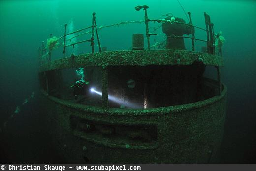frankenwald wreck