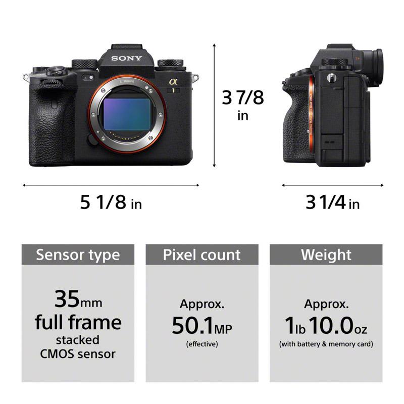 Sony A1 Camera Body Preview