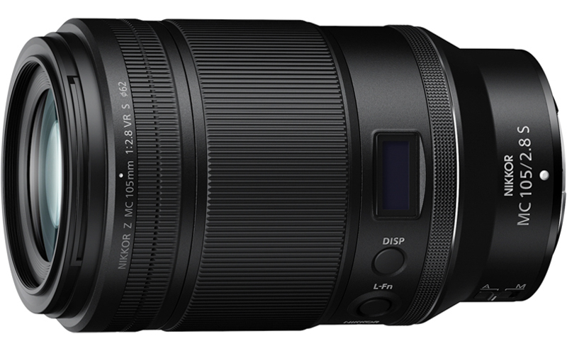 Nikon Z MC 105mm f/2.8 VR S Macro Lens
