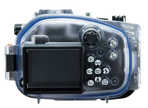 DX-2G Sea&Sea Camera, rear view