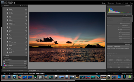 Adobe Lightroom Library