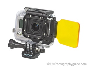 light and motion flip UV filter for gopro hero3