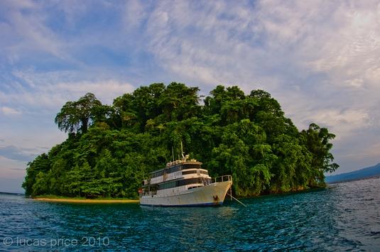 Febrina liveaboard in PNG