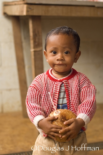 child in Tonga