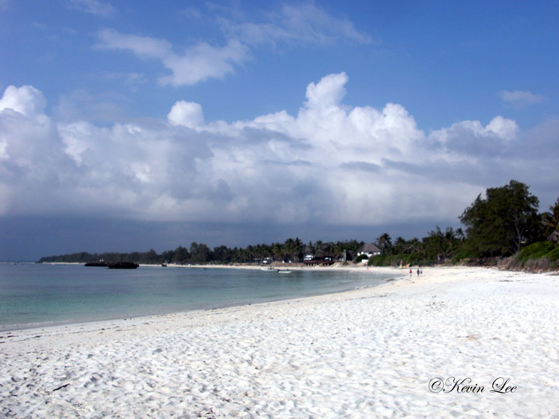 Watamu white sand beach