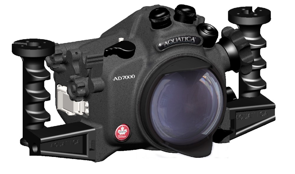 aquatica d7000 underwater housing