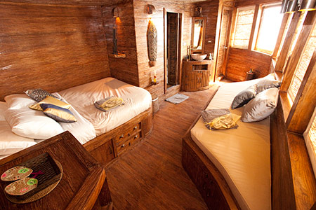 room on the Arenui liveaboard