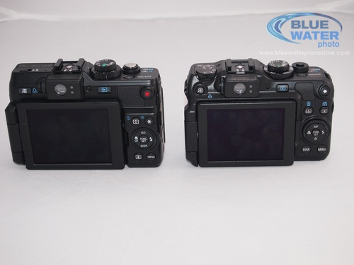 Canon G1x and G12