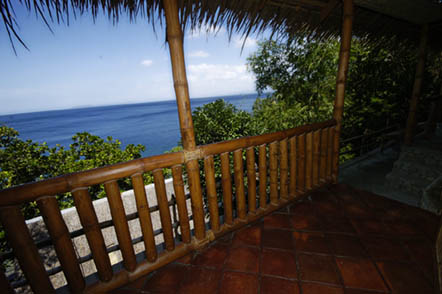 view in Anilao from Club Ocellaris
