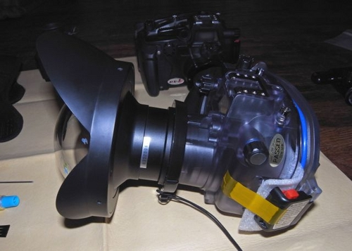 sea sea dx-2g underwater camera with fisheye lens