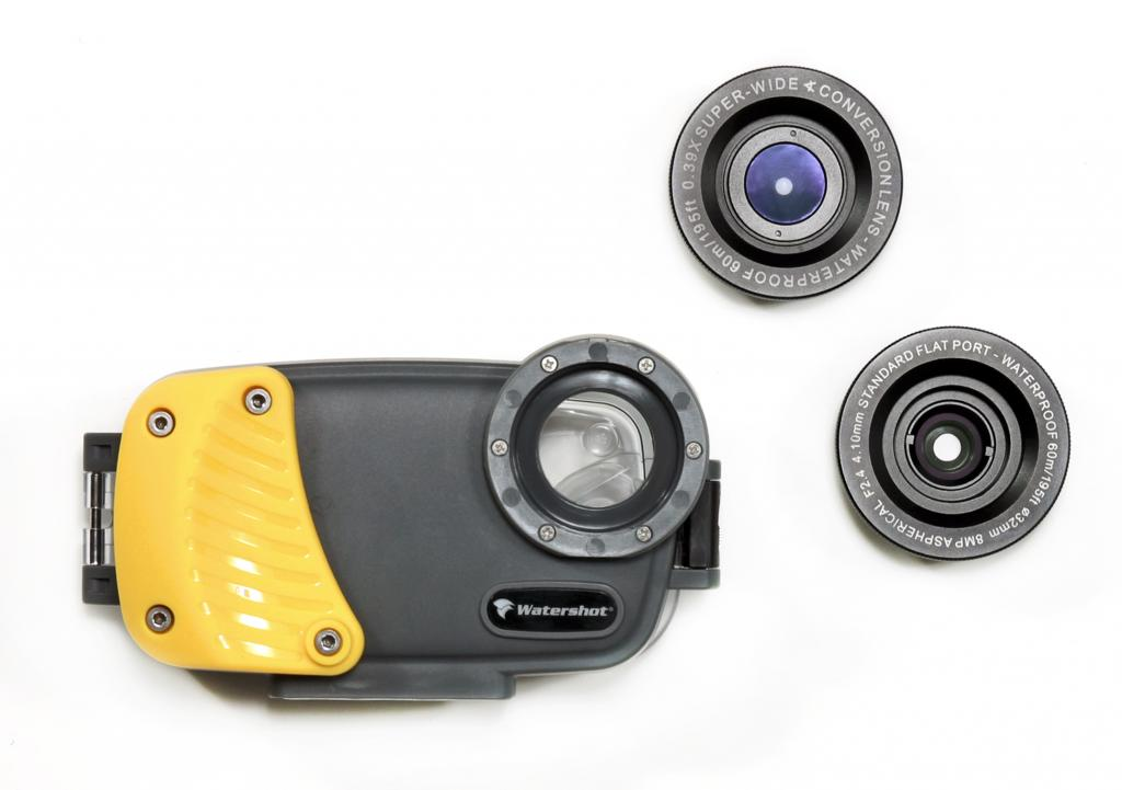 low priced 565b1 f792a Two New Housings for your iPhone 5 from Watershot, Inc. - Underwater ...