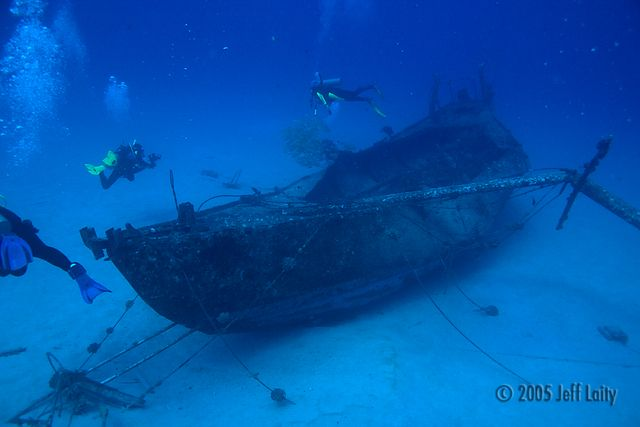 nakedlady wreck at Kona