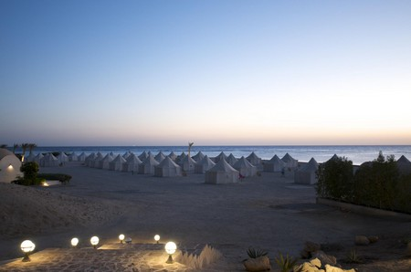 marsa shagra tent city, red sea, egypt