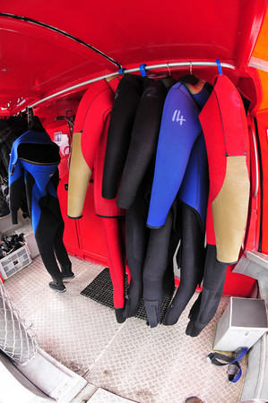 tawaki adventures wetsuits