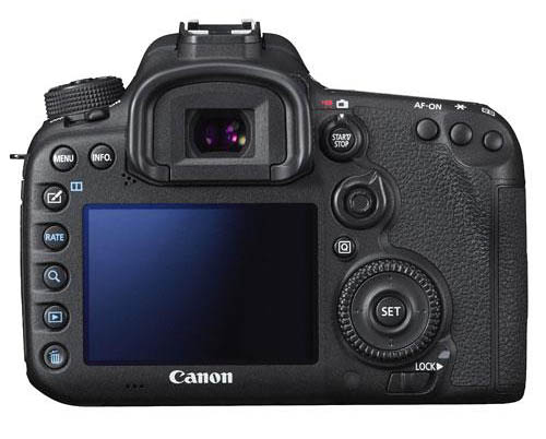 Canon 7D Mark 2 body back