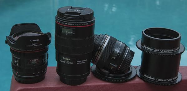 Canon 70D lenses