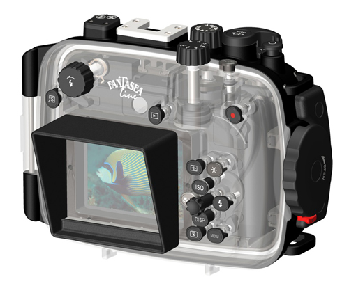 Fantasea FG15 underwater housing
