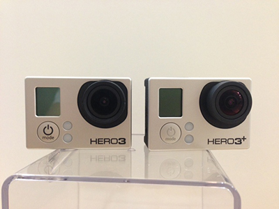 GoPro Hero 3 and Hero 3+ Comparison