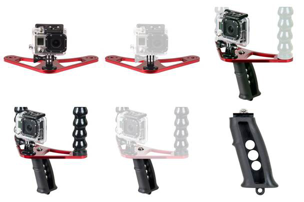 Ikelite accessories for the GoPro Hero 3+