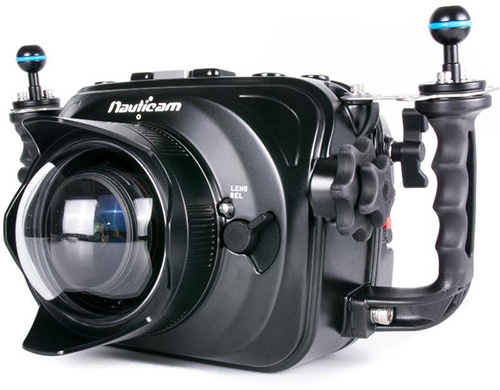 4K Video - Nauticam Housing for Blackmagic Cinema Camera