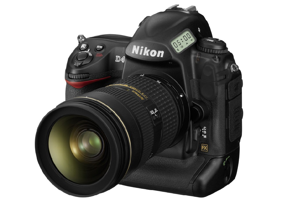 nikon d4 specifications and comparison to Canon 1D-X and Nikon D3s