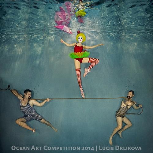 Lucie Drlikova Underwater Circus