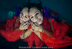 Ocean Art fashion underwater photography winner