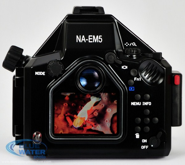 Nauticam E-M5 underwater housing for the Olympus OM-D