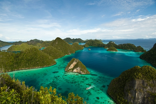 raja ampat on the arenui liveaboard