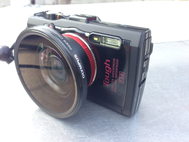Olympus Tough TG-4 Camera Hits the Shelves - Underwater