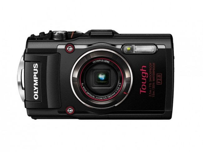 Olympus Tough TG-4 Camera black
