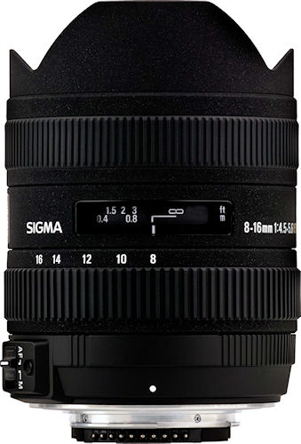 sigma 8-16mm wide angle lens
