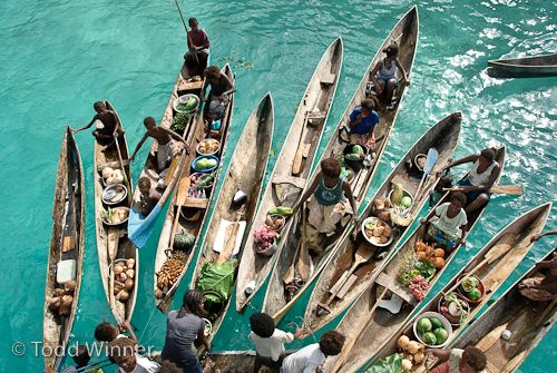boats in the solomon islands