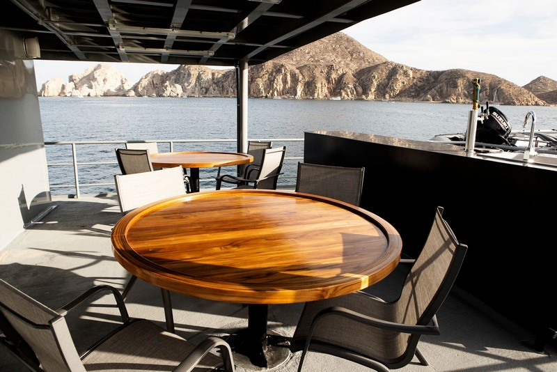 Socorro Vortex - Outside Tables - Socorro Island