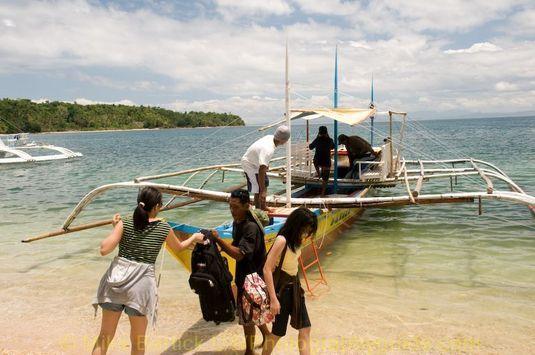 Ticao bangka boat