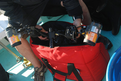 underwater camera cooler