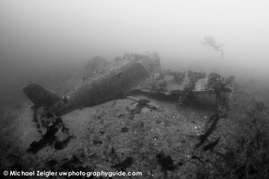 Piper Warrior wreck