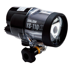 underwater strobe flash